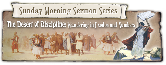 Sunday Morning Sermon Series—The Desert of Discipline: Wandering in Exodus and Numbers